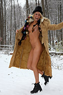 Smoking and Toying with Beads in the Snow from ALS Angels