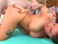 Christy Mack Swallows Some Cum from BangBros Network