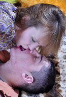 Boy and leggy mom from BoysLoveMatures