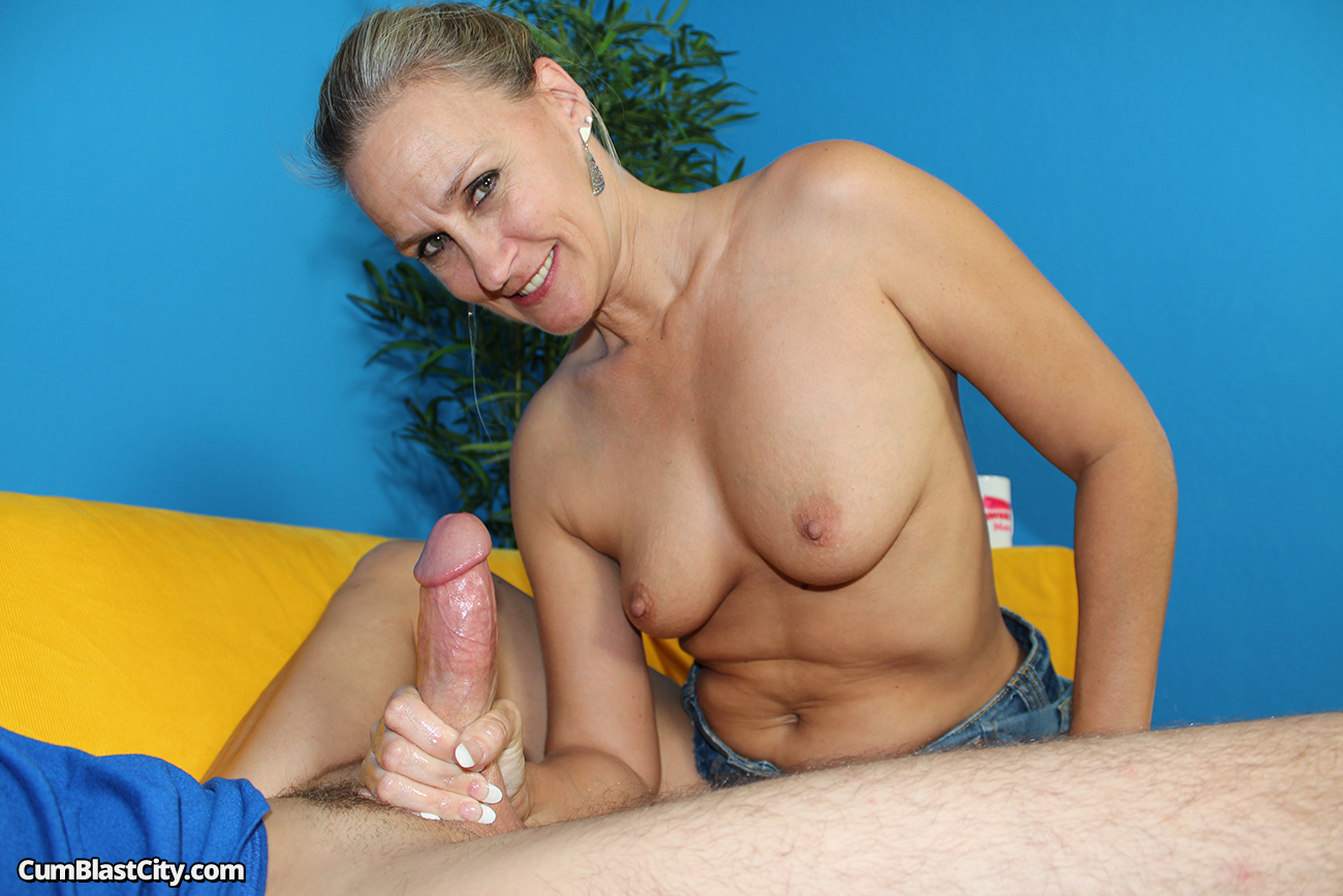shot cum big Milf cock