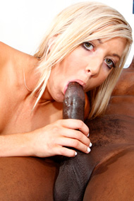 Callie and Her Cuckold Husband Share a Big Black Cock from Cum Eating Cuckolds