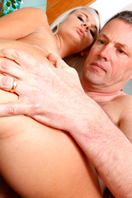 Tosh Locks Makes Her Husband Watch as She Works a Cock from Cum Eating Cuckolds