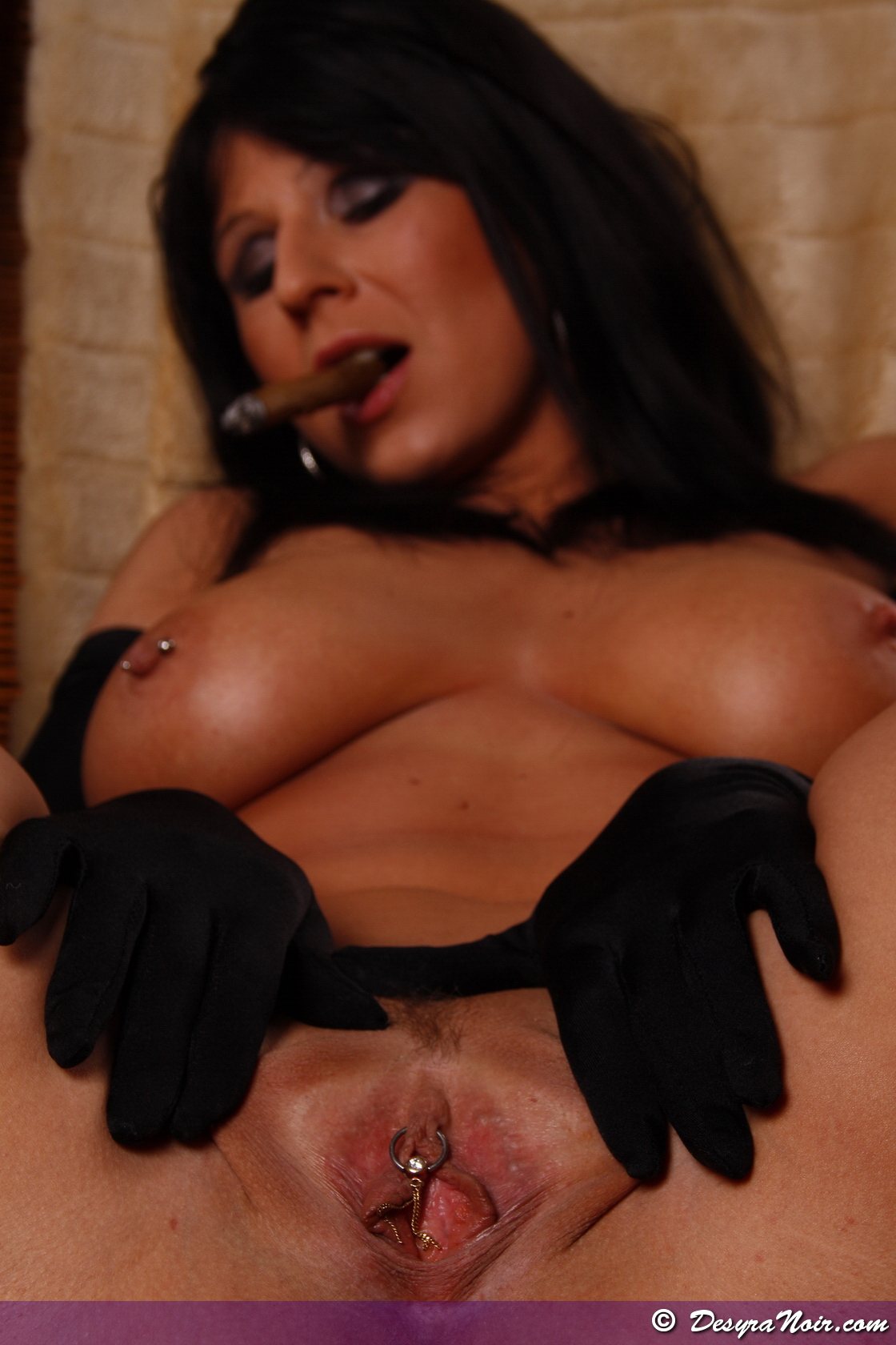 Cigar Smoking Pussy from Desyra Noir
