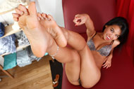 Cindy Starfall Loves Riding Dick and Giving Footjobs from Foot Fetish Daily
