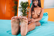 Ana Foxxx Wraps Her Pale Soles Around a Huge Dick from Foot Fetish Daily