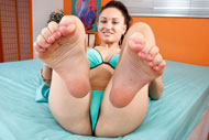 Gabriella Paltrova Loves Riding the Cock and Giving Footjobs from Foot Fetish Daily