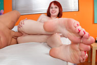 Zoey Nixon Exposes Her Pale Soles and Gets Fucked from Foot Fetish Daily