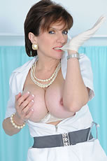 Mature hotwife nurse busty nipples from Lady Sonia