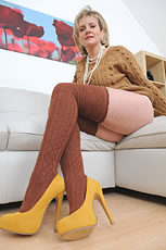 Thigh high socks leggy fetish milf Lady Sonia from Lady Sonia