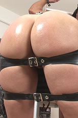 Rubber spanking skirt milf mistress Lady Sonia from Lady Sonia