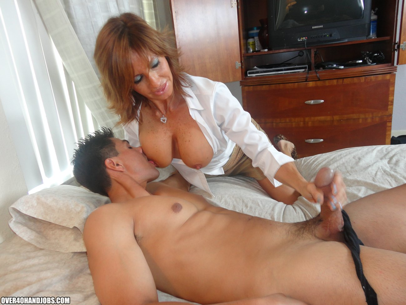 You are Milf big cock handjob remarkable