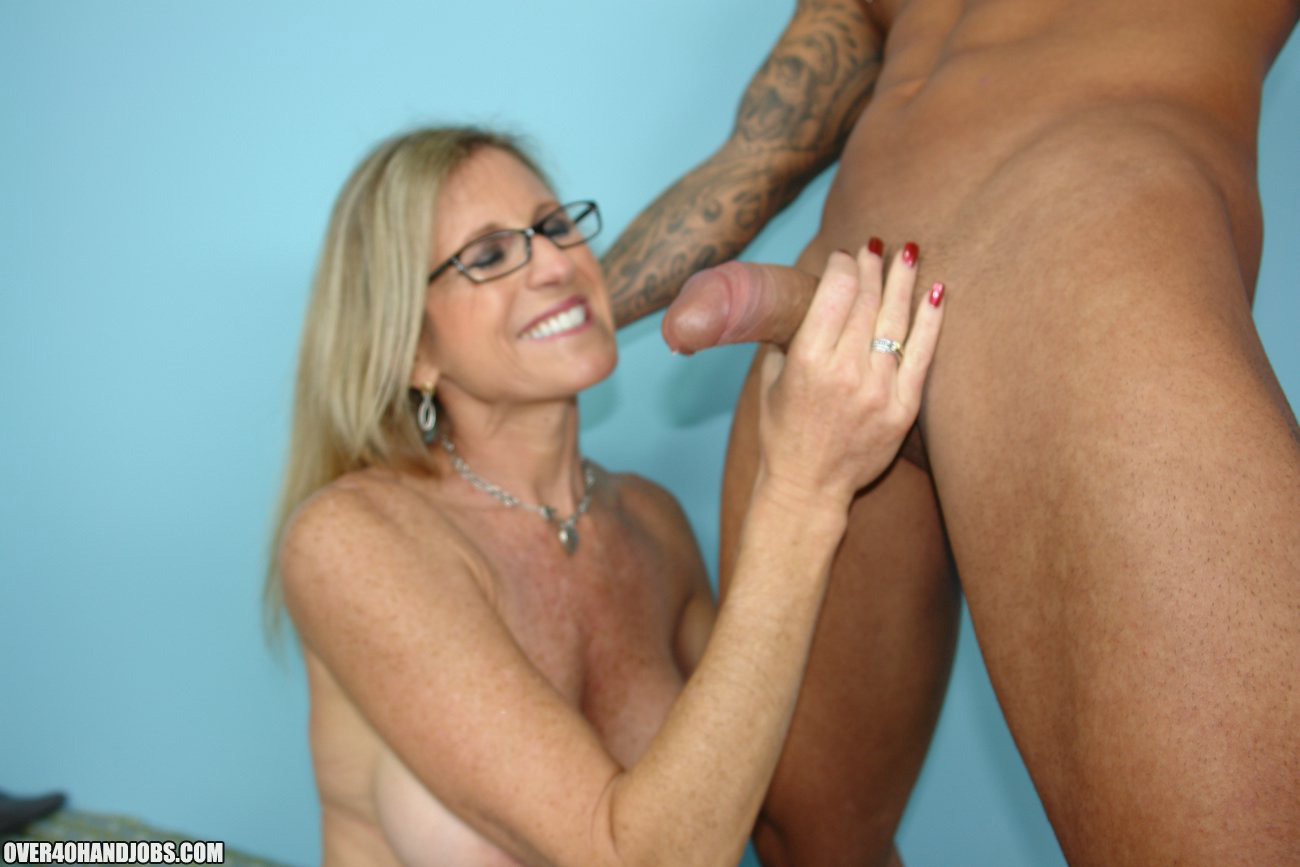 Mom loving handjob