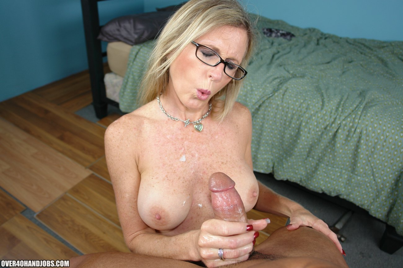 Multiple dicks in her mouth