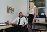 Office Cfnm Handjob from Pure CFNM