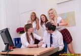 Schoolgirls Cfnm Handjobs from Pure CFNM