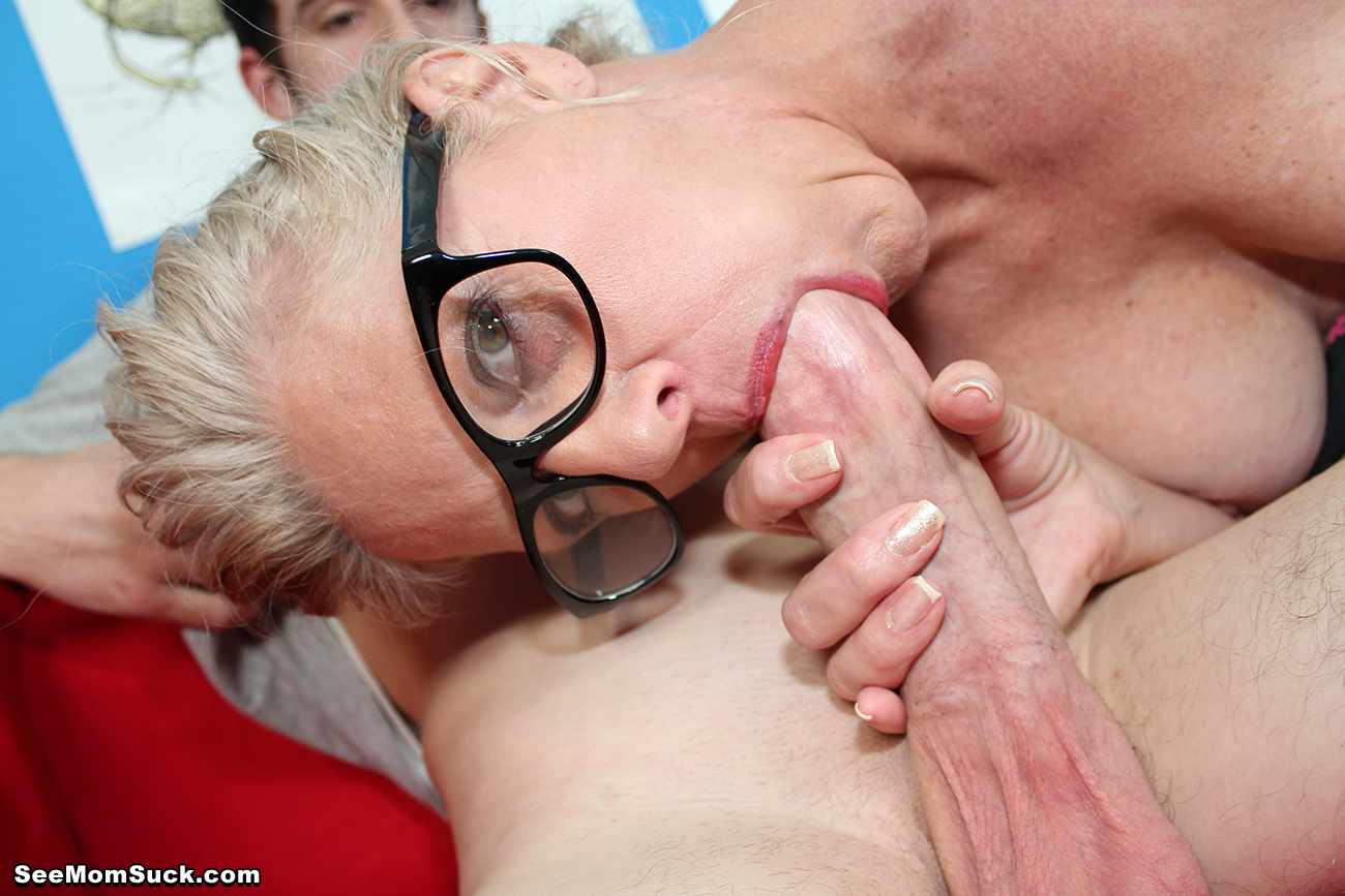 Mother loves cock