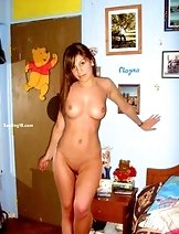 Next door girls doing self shots totally naked