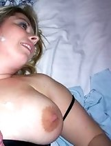 Moms and wives get cumshots