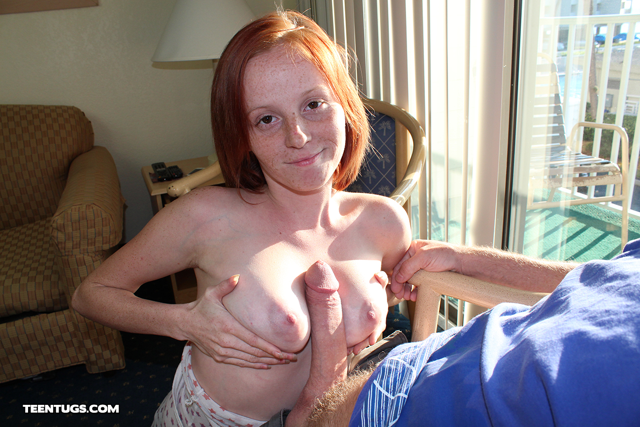 Teen Babe Alyssa Hart Is Back For More Handjobbery From Tugs